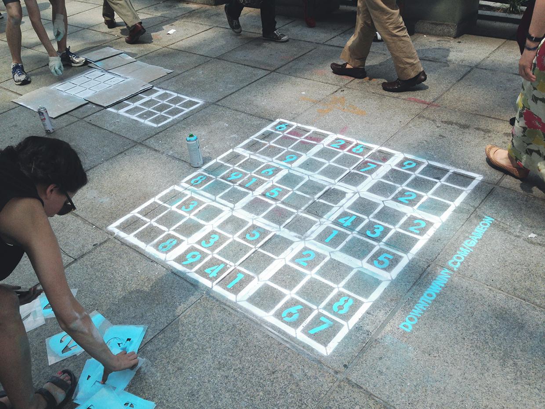 Game On Sidewalk